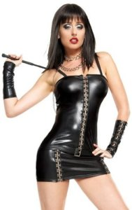 Sexy_Adult_Womens_Halloween_Costumes_Black_Wet_Look_Madame_Mistress_Dominatrix_Costume_Theme_Party_Outfit_1_Large